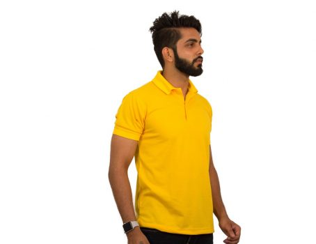 Lemon Yellow Polo T-Shirts by UrbanPolo