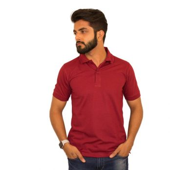 Magenta Polo T-Shirts by UrbanPolo