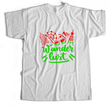 Wanderlust – White – 100% Cotton